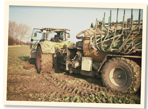 Landwirtschaft im März u. April