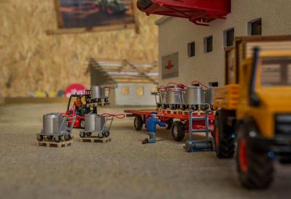 Die ersten Holm & Laue Milch Taxi liefen vom Band